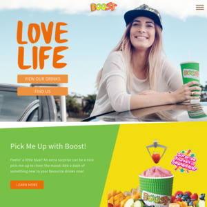 Boost Smoothies & Juices Singapore
