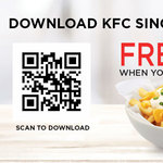 Free KFC Cheese Fries (Worth $4.20) After Registering on KFC App
