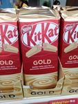 Kit Kat Gold 170g Block for $3 (U.P. $3.90) at Giant [Paya Lebar Square]