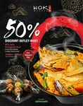 50% Discount Storewide throughout April 2020 at Wok Master