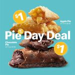 $1 Apple or Chocolate Pies from McDonald's