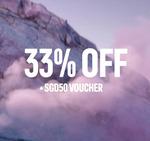 33% off Selected & Outlet Items + Bonus $50 Bounceback Voucher ($180 Min Spend) at adidas [Creators Club Members]