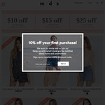 MDS Collections - $10 off $50+ Spend, $15 off $75+ Spend or $25 off $100+ Spend