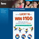 Win $100 from FEVO (10 Winners) - Top Up a Minimum of $20 at 7-Eleven