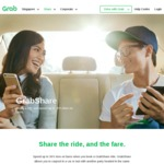 $3 off a GrabShare Ride with Grab