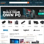 8% off PC Parts & Accessories (Graphic Cards, Monitors, Desktop Casing, RAM, Storage, Software etc) at Lazada
