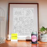 Win an Original Drawing by David The Robot ***PRICELESS***