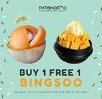 1 for 1 Bingsoo at Patbingsoo