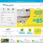 Singapore to Philippines from $85 SGD Return via Cebu Pacific Air