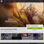 GOG: Free Eye of the Beholder Trilogy (PC) (U.P. €9.19)