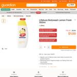 Lifebuoy Body Wash - Lemon Fresh or Mildcare 300ml for $1 (U.P. $3.50) at Guardian