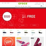 Crocs - Buy 2 Get 1 Free Plus Free Shipping Storewide