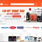 $38 off Home Appliances Category at Shopee ($150 Minimum Spend)