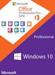 Windows 10 PRO OEM + Office 2016 Professional Plus CD Keys Pack $36.89 USD (~$50 SGD) @ Scdkey
