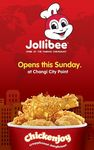 Free T-Shirt for The First 100 Customers at Jollibee (Changi City Point) (31st January)
