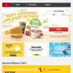 McDonald's McDelivery Free with Purchase: Filet-O-Fish, Durian McFlurry, Apple Pie and Hash Brown