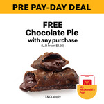 Free Chocolate Pie (U.P. from $1.50) with Any Purchase at McDonald's via App