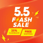 $5 off Sitewide ($70 Min Spend) at Shopee