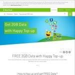 Free 2GB Data When You Top Up $20, $28, $30 or $50 - StarHub