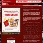 Win 1 of 8 $888 Cash Prizes from Shaw Theatres