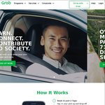 $4 off 7x GrabShare or GrabCar Rides with Grab (after Taking 2 Full Fare GrabShare or GrabCar Rides)
