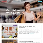 $1 off at Food Republic ($6 Minimum Spend) [Singtel Dash]