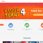 $14 off Min $200 Spend on Klook Activities