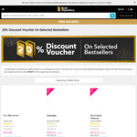 20% off Selected Best Sellers at Book Depository