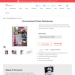 Get 25% OFF on Personalised Notebook by Photojaanic
