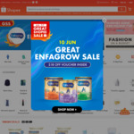 10% off Sitewide at Shopee (Singtel Dash)