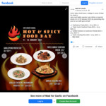 International Hot & Spicy Food Day: Dishes from $10++ at Mad for Garlic
