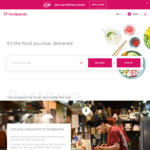 $10 off ($100 Min Spend) on Group Orders at foodpanda