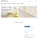 Free Atoderm Huile De Douche (8ml) and Atoderm PP Baume (8ml) Samples Delivered from Bioderma