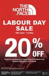 20% off In-Store at The North Face (Minimum Purchase of 2 Regular Priced Items)