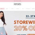 20% off Storewide @ Playdress