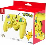 HORI Nintendo Battle Pad (Pikachu) GameCube Style Controller for $14.45 + Delivery ($0 with Prime/$40 Spend) from Amazon SG