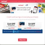 Redmart - $18 off ($100 Min Spend, New Customers) or $8 off ($120 Min Spend, Existing Customers) [Citibank Cards]