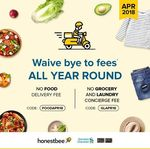 No Food Delivery, Grocery or Laundry Concierge Fees at honestbee (Standard Chartered Cards)