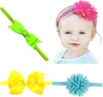 Free Set of Baby Hair Accessories Delivered from littlecute0001 (Little Cute) via Shopee