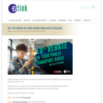 10% Rebate on Public Transport Rides with EZ-Link EZ-Reload (DBS/POSB Cards)