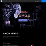 [PC] Free Axiom Verge (U.P. $19.99 USD) @ Epic Games