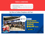 $2 off Large Popcorn Combo at Cathay Cineplexes by Flashing Fave App