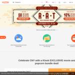 $8 off ($120 Min Spend) at Klook via App