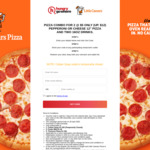 Pizza Combo for 2 for $5 (U.P. $12) at Little Caesars Pizza