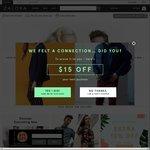 15% off Sitewide at Zalora ($110 Minimum Spend)