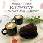 2 Espresso with 1 Cake and 1 Set of Key Chains for $28 at Mellower Coffee