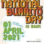 Muchachos: 1-For-1 Burritos (Takeaway)