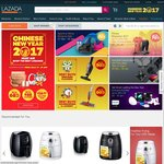 Lazada - $8 off (Minimum $68 Spend)