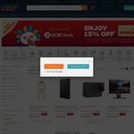 15% off at Lazada (New Customers, OCBC Cards)