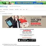 15% off Shipping at ezbuy via Mobile App